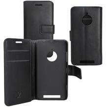 Fontastic OZBO PU Tasche Diary Business - schwarz - für Nokia Lumia 830