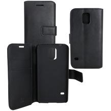 OZBO PU Tasche Diary Business schwarz komp. mit Samsung Galaxy A6+ (2018)