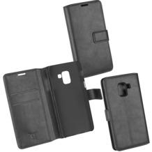 OZBO PU Tasche Diary Business schwarz komp. mit Samsung Galaxy A8 (2018)