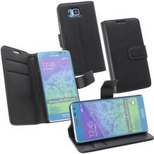 Fontastic OZBO PU Tasche Diary Business - schwarz - für Samsung Galaxy Alpha