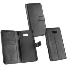 OZBO PU Tasche Diary Business schwarz komp. mit Samsung Galaxy J4 Plus (2018)