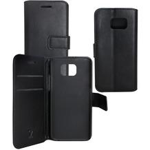 OZBO PU Tasche Diary Business - schwarz - für Samsung Galaxy S6 Edge
