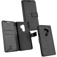 Fontastic OZBO PU Tasche Diary Business schwarz komp. mit Samsung Galaxy S9 Plus
