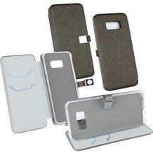 Fontastic OZBO PU Tasche Diary Ela dunkel grün komp. mit Samsung Galaxy S8