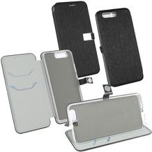 Fontastic OZBO PU Tasche Diary Ela schwarz komp. mit Huawei P10