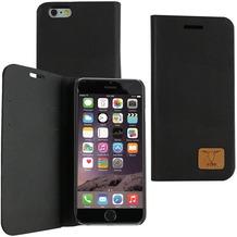 OZBO PU Tasche Diary Slim - schwarz - für Apple iPhone 6+/6s+
