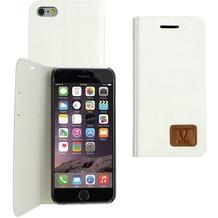 OZBO PU Tasche Diary Slim - weiß - für Apple iPhone 6+/6s+
