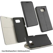 OZBO PU Tasche Diary Supra - schwarz/grau für Samsung Galaxy S7 Edge