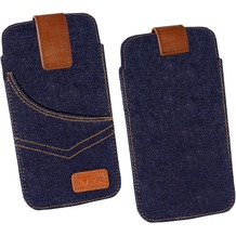 Fontastic OZBO Tasche Jeans Lift 3XL - blau - 153x78x9mm (5.5 Zoll)