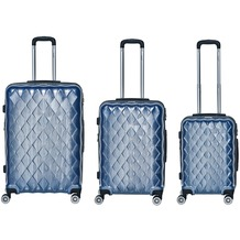 Packenger Atlantic Premium Kofferset 3tlg. Blau