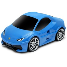 Packenger Lamborghini Huracan Kinderauto Kindertrolley Blau