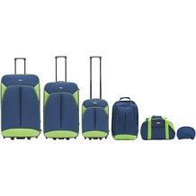 Packenger Value Traveller 6er-Reiseset, Blau