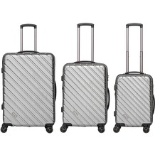 Packenger Vertical Business Koffer 3er-Set, Silber