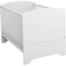 PACK'S Babybett incl. Lattenrost Aik, 3-fach höhenverstellbar, alpinweiß, AR901.702S.70