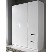 PACK'S Drehtürenschrank Freising Alpinweiß 136x197x54 cm