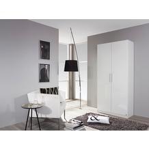 PACK'S Drehtürenschrank Minosa weiß/Alpinweiß 91x197x41 cm