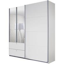PACK'S Schwebetürenschrank Kombino Alpinweiß 181x210x62 cm