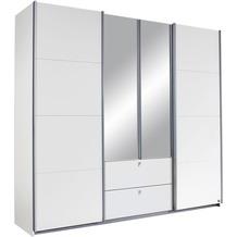 PACK'S Schwebetürenschrank Kombino Alpinweiß 226x210x62 cm