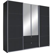 PACK'S Schwebetürenschrank Kombino Graumetallic 226x210x62 cm