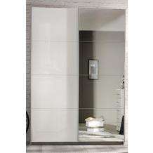 PACK'S Schwebetürenschrank Minosa weiß/Alpinweiß 181x197x48 cm