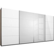 PACK'S Synchron-Schwebetürenschrank Syncrono weiß/eiche sanremo 361x211x62 cm