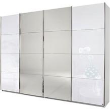 PACK'S Synchron-Schwebetürenschrank Syncrono weiß 315x211x62 cm