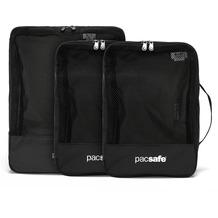 Pacsafe Travel Packing Cubes Packtasche Set 3tlg. black