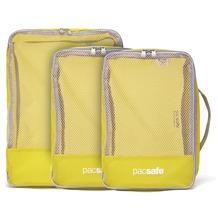 Pacsafe Travel Packing Cubes Packtasche Set 3tlg. citronelle
