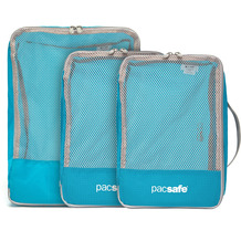 Pacsafe Travel Packing Cubes Packtasche Set 3tlg. pacific
