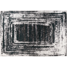 Padiro Teppich Rhodin 725 Schwarz / Weiß 120cm x 170cm