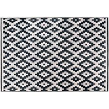 Padiro Teppich Sally 225 Schwarz / Weiß 120cm x 170 cm