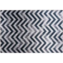 Padiro Teppich Sally 325 Schwarz / Grau 120cm x 170 cm