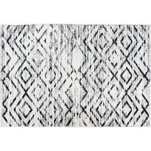 Padiro Teppich Sally 425 Schwarz / Weiß 120cm x 170 cm