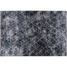 Padiro Teppich Sally 525 Grau / Elfenbein / Schwarz 120cm x 170 cm