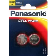 Panasonic CR-2025L/2BP 2er Blister, 3v