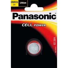 Panasonic CR2016 Lithium, Blister, 3v