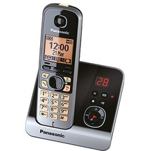 Panasonic KX-TG6721GB, schwarz