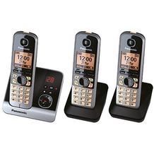 Panasonic KX-TG6723GB, schwarz