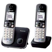 Panasonic KX-TG6812GB Duo, schwarz