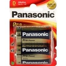 Panasonic LR20PPG/2BP Pro Power 2er Blister, (D)