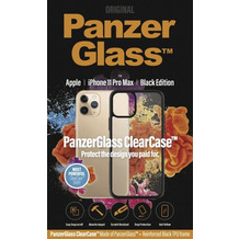 PanzerGlass ClearCase with BlackFrame for Apple iPhone 11 Pro Max