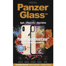 PanzerGlass ClearCase with BlackFrame for Apple iPhone X/Xs