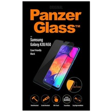 PanzerGlass Samsung Galaxy A30/A50 Case Friendly Black / Edge-to-Edge / Super+ Glass