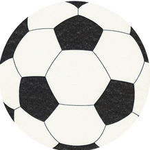 Paper+Design Servietten Airlaid Football 33 x 33 cm 12er