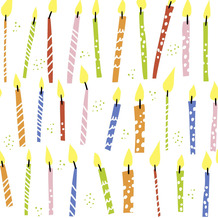 Paper+Design Servietten Tissue B-day candles 33 x 33 cm 20er