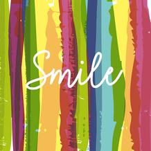 Paper+Design Servietten Tissue Smile 24 x 24 cm 20er