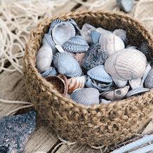 Paper+Design Servietten Tissue Basket of shells 33 x 33 cm 20er