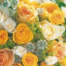 Paper+Design Servietten Tissue Bouquet of roses 33 x 33 cm 20er