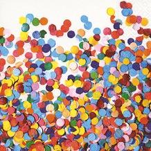 Paper+Design Servietten Tissue Confetti 25 x 25 cm 20er