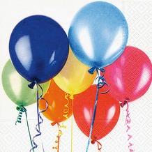 Paper+Design Servietten Tissue Flying balloons 33 x 33 cm 20er